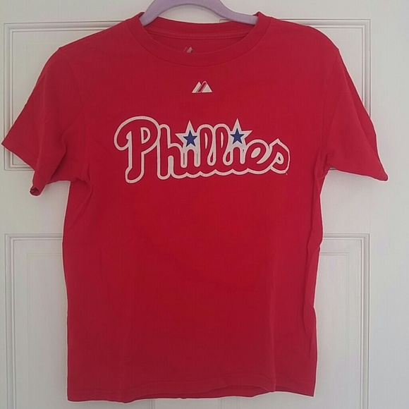 premium selection 43ed9 72b97 Chase Utley Phillies T-shirt